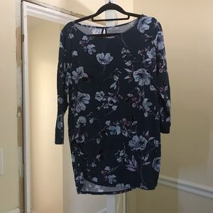 Motherhood Maternity Floral Knit Top